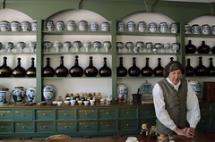People of Colonial Williamsburg: The Apothecary (larry wfu) Tags: peopleofcolonialwilliamsburg williamsburg colonial virginia