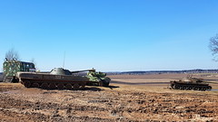 Overview demo area (sirgunho) Tags: preserved minsk belarus loshany stalin line museum линия сталина overview demo area soviet union army air force red forces world war two lenin communism nato tank gun armoured vehicle car missile diggers enginering