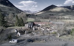Spittal of Glenshee (ShinyPhotoScotland) Tags: art composition places scotland contrasts landscape rawconversion vista manipulated composite enfuse photography equipment camera hdr emotion rawtherapee digikam perthshire toned painteffects colour mutedcolour drone dji highviewpoint mankindnature phantom4advanced serifaffinityphoto urban projects anthropocene v01051577 116 v100 glenshee building ruin decay imagemagickmedian spittalofglenshee village hotel spittalofglensheehotel unitedkingdom gbr