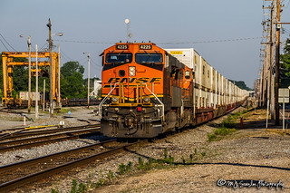 BNSF 4225 | GE ES44C4 | NS Harris Yard