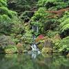 Japanese Garden (Blurmageddon) Tags: mediumformat filmphotography 6x6 yashicamat124 squareformat oregon kodak c41 epsonv700 tlr ektar 100 unicoloruniroller japanesegarden portland