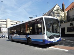 816 SHW (jeff.day48) Tags: 816shw optare tempo expressyourself firstwestofengland lowermaudlinstreet bristol x8 abus