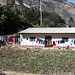 Ancash morning - drying washing