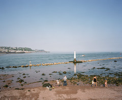 Bank Holiday (@davidflem) Tags: shaldon teignmouth devon mamiya7 50mm kodak portra400 120film mediumformat 6x7 filmphotography istillshootfilm