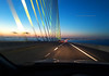 Twilight Crossing (Infinity & Beyond Photography) Tags: sunshine skyway bridge tampa bay twilight bluehour florida road cables