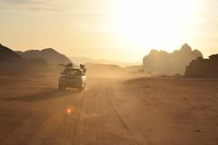 Driving through the desert (ksvanderaa) Tags: desert nature adventure travel