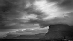 Carretera 1 (Luis GA) Tags: nikon d3100 islandia iceland lugamor luisga blancoynegro blackwhite black white blanco negro landscape paisaje europe europa cielo sky nube nubes cloud