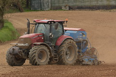 Case IH Puma 240 CVX Tractor with a Lemken Solitair 8 Seed Drill & Power Harrow (Shane Casey CK25) Tags: case ih puma 240 cvx tractor lemken solitair 8 seed drill power harrow cnh red casenewholland belgooly onepass one pass spring barley traktor trekker traktori tracteur trator ciągnik sow sowing set setting drilling tillage till tilling plant planting crop crops cereal cereals county cork ireland irish farm farmer farming agri agriculture contractor field ground soil dirt earth dust work working horse horsepower hp pull pulling machine machinery grow growing nikon d7200