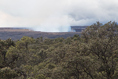 Kilauea in the distance (mfeingol) Tags: kilaueaiki hawaiivolcanoesnationalpark hawaii bigisland volcano pāhoa unitedstates us