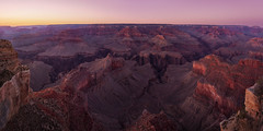 Pink Canyon (Bereno DMD) Tags: grand canyon grandcanyon powell point powellpoint panoramic panoramicshot pano pan panorama pink blue orange red color sky vibrant earth rock stone river arizona polarizer west sunset shadow colors geology time