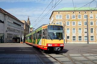Heilbronn het eine Straßenbahn