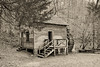 Norton Grist Mill (Back Road Photography (Kevin W. Jerrell)) Tags: oldbuildings gristmills bigridgestatepark maynardville tennessee nikond7200 backroadphotography daysgoneby monochrome adobelightroom niksoftware