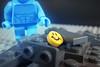 A Button (-Metarix-) Tags: lego minifig dc comics comic button watchmen rebirth universe manhattan comedian smile blood new 52 doomsday clock flash batman