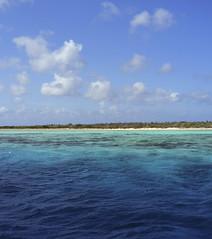 shades of blue and green (Jeff Mitton) Tags: sea sky clouds caribbean caribbeansea kleinbonaire bonaire scuba marine tropical earthnaturelife wondersofnature