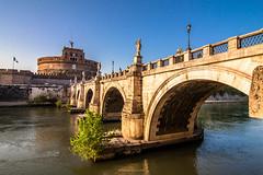 Ponte Sant'Angelo (Steve_Mc_Schli) Tags: rom roma engelsbrücke