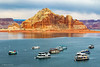 Houseboats In The Wahweap Marina (Mimi Ditchie) Tags: wahweap wahweapmarina lakepowell arizona pagearizona boats houseboats page marina getty gettyimages mimiditchie mimiditchiephotography