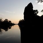 Sunset at Angkor South Gate thumbnail