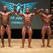 Men's bodybuilding Heavyweight - 2nd Sebastien Gobeil 1st Regis Gagne-Blanchette 3rd Marc-Andre Rocheleau