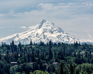 Mount Hood from the North