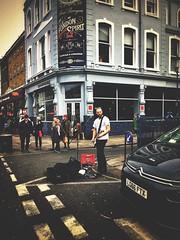 London Spirit (ckandera) Tags: busker crossroad iphone pop stratocaster streetphotography guitar musician london rock