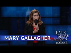 Mary Gallagher Stand-Up Comedy #FUNNY #VIDEOS (Funny Center) Tags: comedy jokes marygallagher standup standupcomedy stephencolbert thelateshow