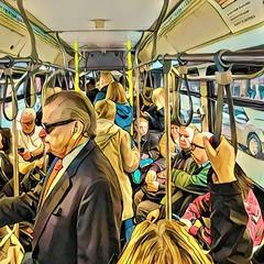 Morning bus ride in Chicago (AdamKeats) Tags: instagram ifttt