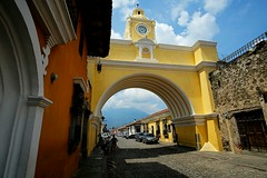 Antigua (danielhendrikx) Tags: antigua guatemala centro america photography photo photos fuji fujifilm xt2 travel trip vacation holiday backpacking outdoor landscape town village cathedral architecture building color