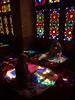 PA035876 (bartlebooth) Tags: shiraz farsprovince iran persia middleeast unesco iranian architecture olympus e510 evolt silkroad persian nasiralmulkmosque pinkmosque nasirolmolkmosque masjedinasiralmulk masjed masjid stainedglass colouredglass colouredlight