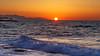Sea and Sun (joseph_donnelly) Tags: sun sonne sunset sonnenuntergang water sea waves crete kreta greece griechenland evening abend colours sphere foam