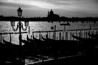Venezia silhouette