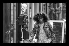 Still with an eye for the ladies ..... (Frank Fullard) Tags: frankfullard fullard candid street portrait skeleton eye lady female lol fun sex attractive love lecherous lustful bones monochrome blackandwhite blanc noir storytelling story randy lust erotic horny dirtyoldman