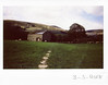Thursday 3rd May (ronet) Tags: fuji fujiinstax200wide landscape thursdaywalk barn edale field film instantfilm instax instax200wide kinderscout lambs peakdistrict scanned utata england unitedkingdom