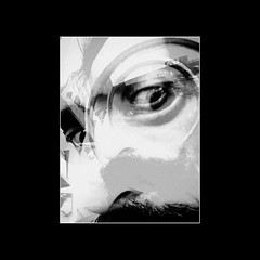 """ Psycho "" (Squad_Noize) Tags: self portrait autoritratto milan milano italy dada surrealism surrealismo surrealist vision"