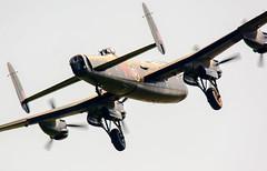 Dirty pass Lancaster.. (mickb6265) Tags: shuttleworthcollection oldwarden raf100centenary seasonpremiere avrolancastermk1 pa474 battleofbritainmemorialflight bbmf