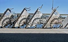 Four Carts (skipmoore) Tags: monterey harbor pier carts