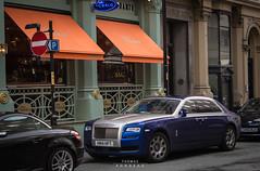 Rolls-Royce Ghost (Series II) (Thomas Rondeau) Tags: rolls royce ghost series ii 2 mk2 mkii mk manchester uk england car spotting exotic vehicle voiture coche restaurant ristorante san carlo street