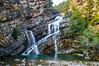 Cameron Falls (Beangrau12) Tags: cameronfalls albertacanada watertonlakesnationalpark water trees canyon rocks