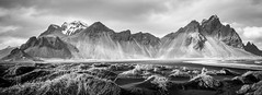 Vestrahorn (Fret Spider) Tags: iceland island waterfall nature landscape outdoors beauty monochrome bw blacknwhite toned canoneos5dsr canonef1635mmf4isusm vacation relax recuperate europe wonder natural serene serenity peace wife skancheli