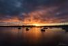 Monday sunset (Crouchy69) Tags: sunset dusk landscape seascape ocean sea water coast shell park greenwich sydney australia