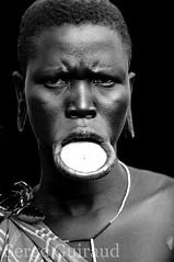 Mursi (pguiraud) Tags: mursi ethiopie sergeguiraud jabiruprod valléedelomo omovalley plateaulabial labret plateauenbois ornementscorporels tribus ethnies peuples portrait