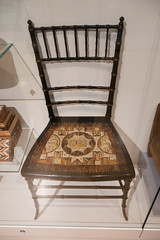 Mi'kmaq porcupine quill chair (quinet) Tags: 2017 aborigène canada firstnations indian kunst ontario rom royalontariomuseum toronto ureinwohner aboriginal art museum musée native 124