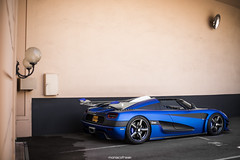 Blue Unicorn (MonacoFreak) Tags: monaco montecarlo frenchriviera cotedazur cars car luxury koenigsegg one1 onetoone