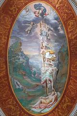 La chambre des rêves (Palais Farnese, Caprarola, Italie) (dalbera) Tags: dalbera escalier caprarola italie palaisfarnese vignola peinturesmurales maniérisme