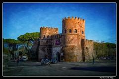 Roma_Porta San Paulo (ferdahejl) Tags: roma portasanpaulo dslr canondslr canoneos800d