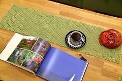 Tea-time (petrOlly) Tags: europe europa germany deutschland moenchengladbach rheydt object objects handmade tea cup planetjune crochet
