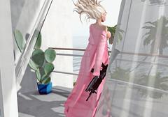 Be careful with me. (Dεvιη) Tags: devin limondi second life secondlife be carful with me cardi b lana del rey high beach music video vintage boobs trisha paytas pink barbie