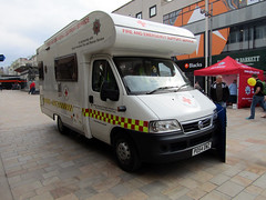 British Red Cross - 999 Fun Day On The Moor, Sheffield 2018 (Dave_Johnson) Tags: 999fundayonthemoor 999funday 999 funday themoor moor moorsheffield emergencyservices emergencyservicesvehicle vehicle sheffield southyorkshire britishredcross redcross nesm nes nationalemergencyservicesmuseum emergencyservicesmuseum