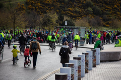 #POP2018  (128 of 230) (Philip Gillespie) Tags: pedal parliament pop pop18 pop2018 scotland edinburgh rally demonstration protest safer cycling canon 5dsr men women man woman kids children boys girls cycles bikes trikes fun feet hands heads swimming water wet urban colour red green yellow blue purple sun sky park clouds rain sunny high visibility wheels spokes police happy waving smiling road street helmets safety splash dogs people crowd group nature outdoors outside banners pool pond lake grass trees talking bike building sport