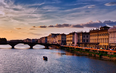 Where possibility finds its wings (Jim Nix / Nomadic Pursuits) Tags: 2470mm europe firenze florence italy jimnix lightroom luminar2018 macphun nomadicpursuits renaissance riverarno sony sonya7ii goldenhour historic landmark sunset travel