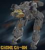 Crone CR-8N (Cagerrin) Tags: lego system technic mech mecha ldd legodigitaldesigner 3d